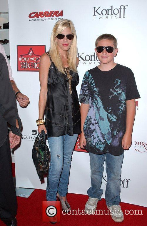 Tori Spelling and Jack Mcdermot 2