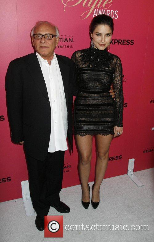 Designer Max Azria and Sophia Bush The 6th...