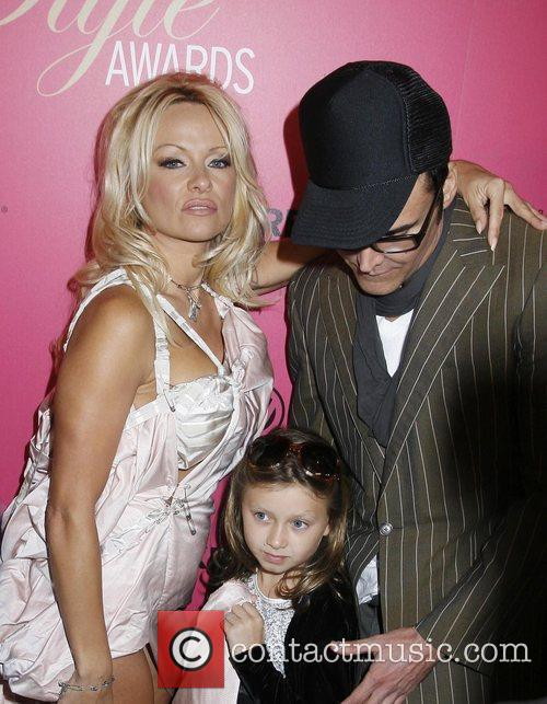 Pamela Anderson, Adelaide Gault and David LaChapelle 1