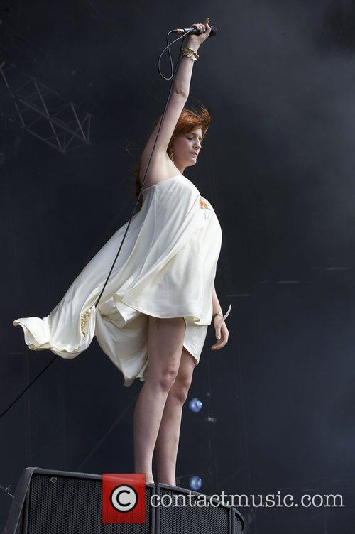 Florence And The Machine and Hop Farm Festival 1