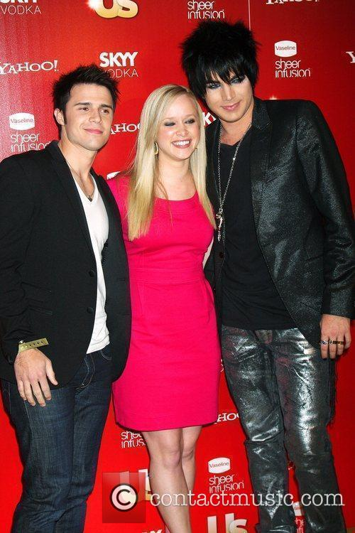 Kris Allen, Wife and With Adam Lambert 10