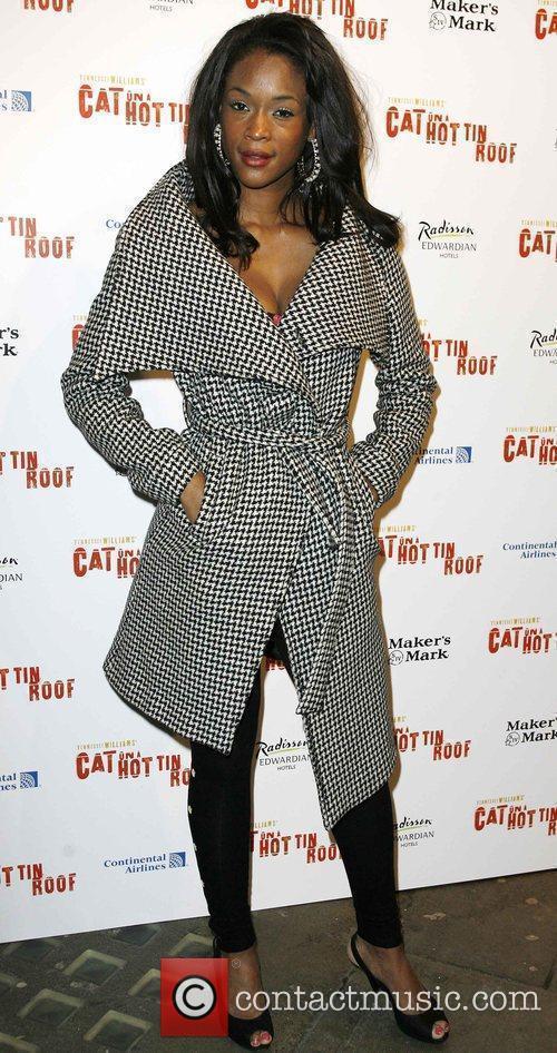 Tiana Benjamin at the press night for the...