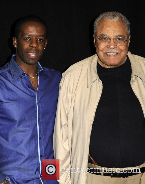 Adrian Lester and James Earl Jones Photocall first...