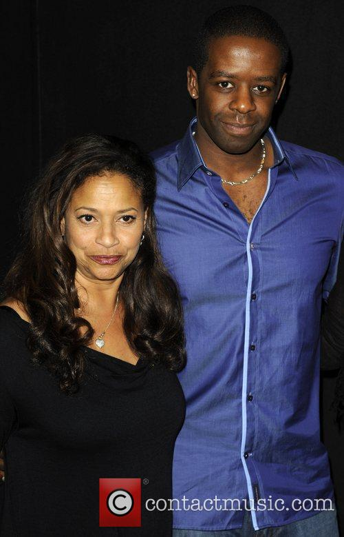 Debbie Allen and Adrian Lester Photocall first day...