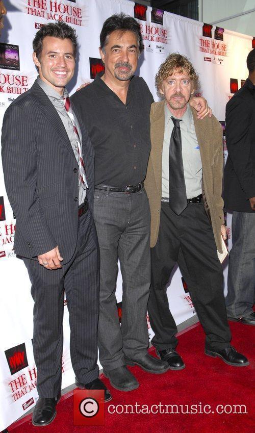 Kris Black, Joe Mantegna and Bruce Reisman the...