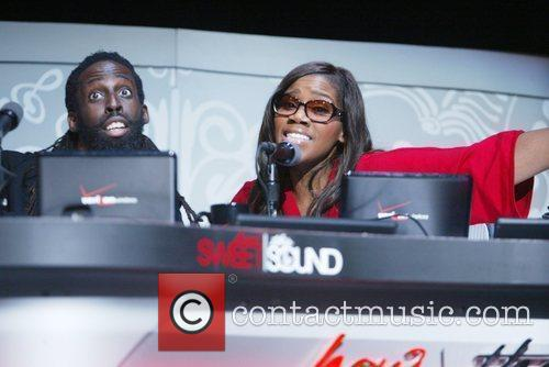 Judges Tye Tribbett, and Kelly Price How Sweet...