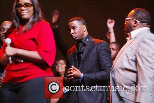Large choir conductor winner for Mount Ararat baptist...