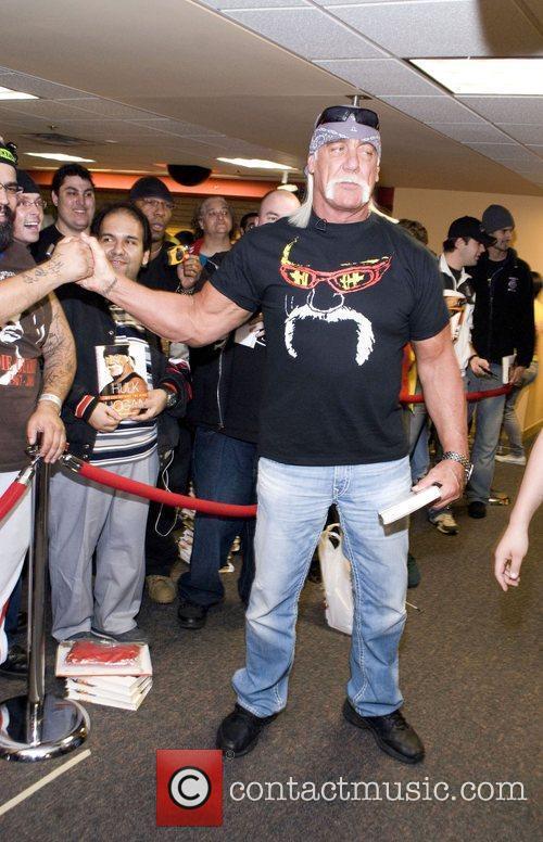 Hulk Hogan  signing of his book 'My...