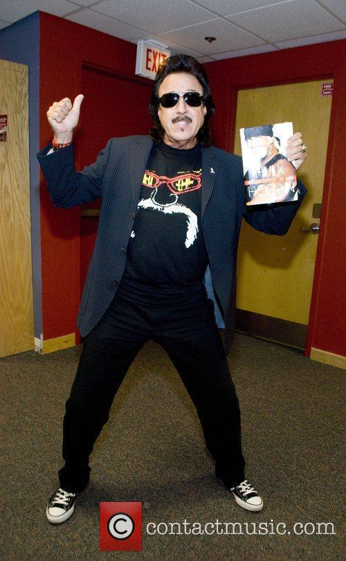 Jimmy Hart attending the signing of Hulk Hogans...