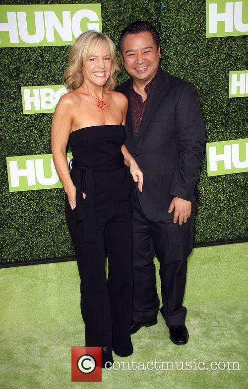 Rachael Harris and Rex Lee 3