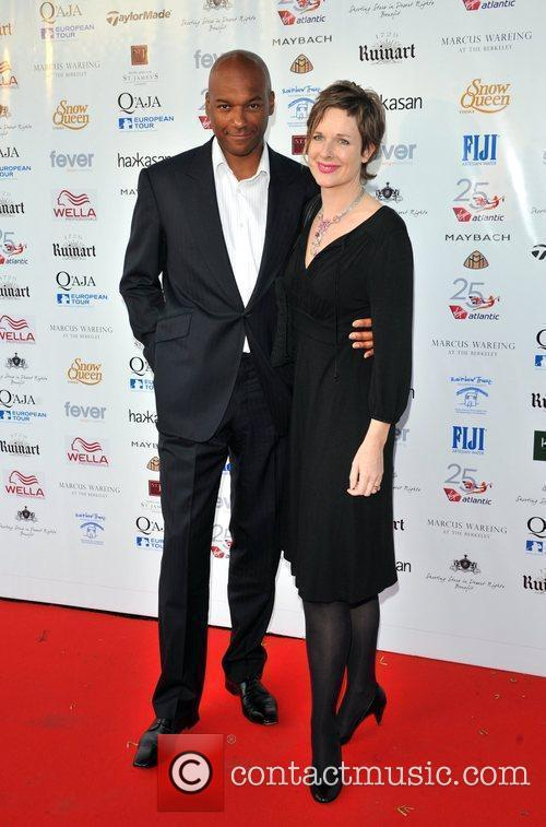 Colin Salmon and wife 'Shooting Stars in Desert...