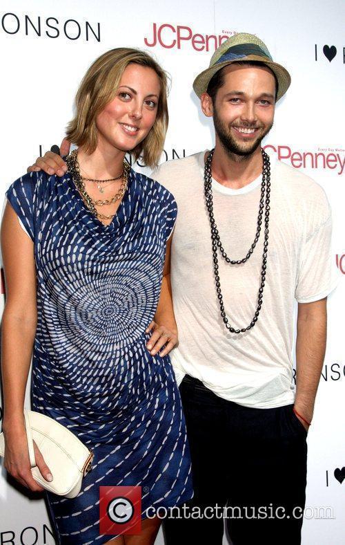 Eva Amurri and Chris Benz attend the celebration...