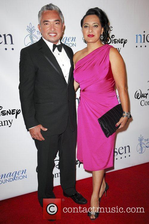 CESAR Millan and wife Illusion The 24th Annual Imagen Awards held ...