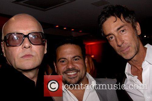 Erich Conrad, Narciso Rodriguez and Jean-Marc Houmard private...