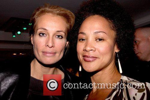 Frederique van der Wal and Belinda Becker private...