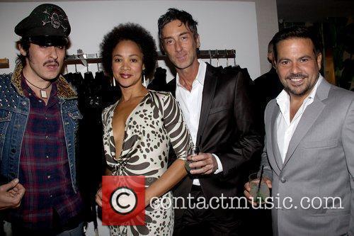 Guest, DJ Belinda Becker, Jean-Marc Houmard and Narciso...