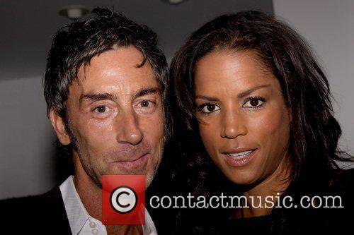 Jean-Marc Houmard and Veronica Webb private party for...