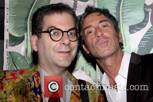 Michael Musto and Jean-Marc Houmard private party for...
