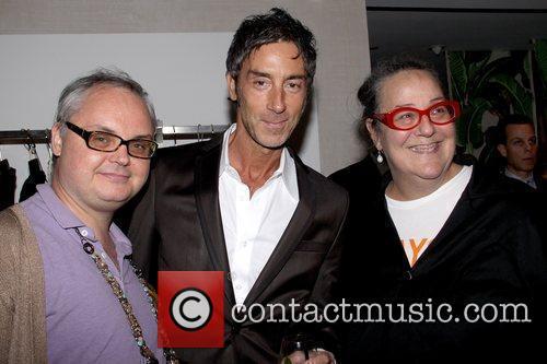 Mickey Boardman, Jean-Marc Houmard and Kim Hastreiter private...