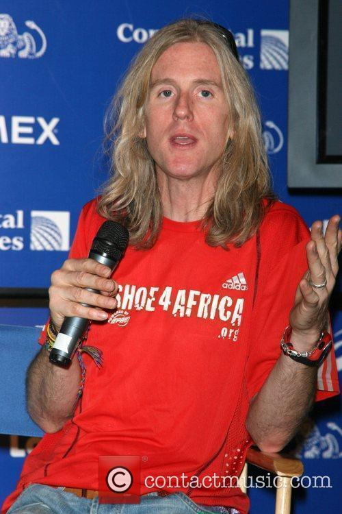 Shoe4Africa founder Toby Tanser Shoe4Africa running team press...