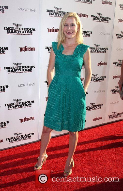 Angela Kinsey Los Angeles Premiere of Inglourious Basterds...