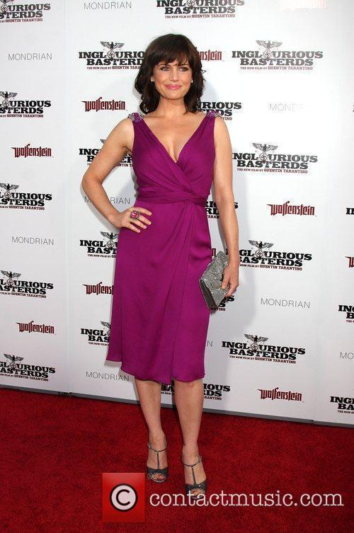 Carla Gugino Los Angeles Premiere of Inglourious Basterds...