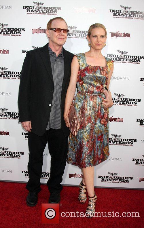 Danny Elfman and Bridget Fonda 1