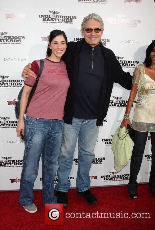 Michael Nouri and Sarah Silverman  Los Angeles...