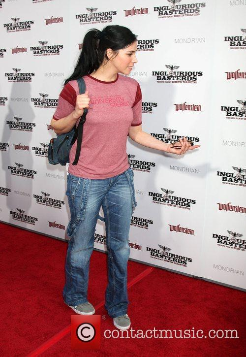 Sarah Silverman  Los Angeles Premiere of Inglourious...