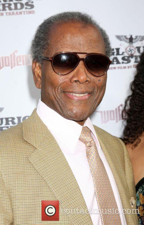 Sidney Poitier Los Angeles Premiere of Inglourious Basterds...