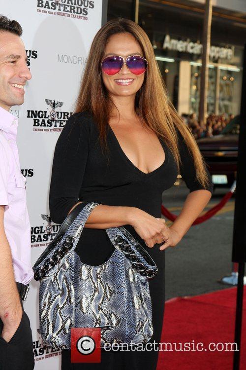 Tia Carrere  Los Angeles Premiere of Inglourious...
