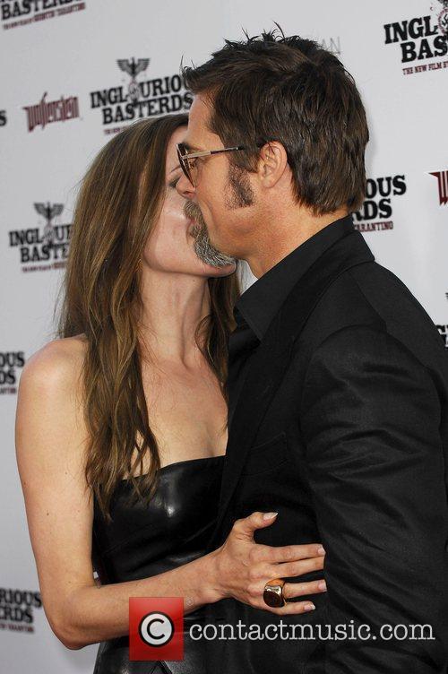 Angelina Jolie and Brad Pitt 10