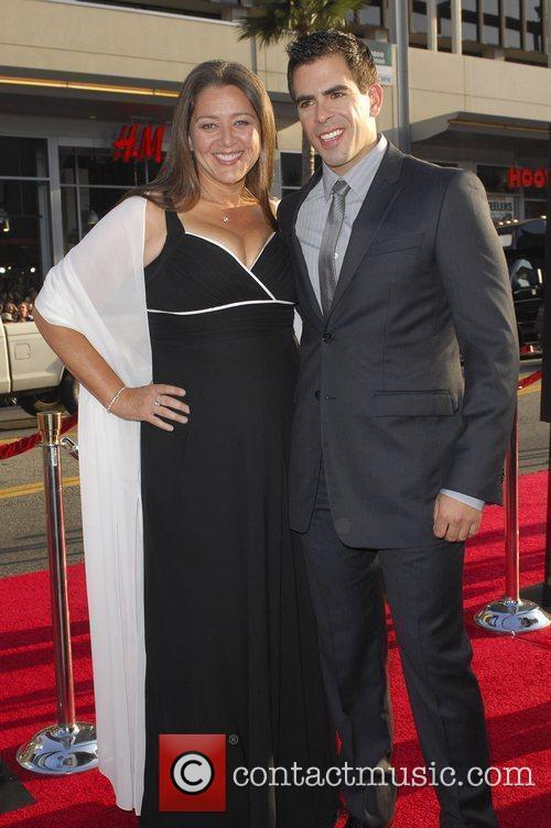Eli Roth and Camryn Manheim Los Angeles Premiere...