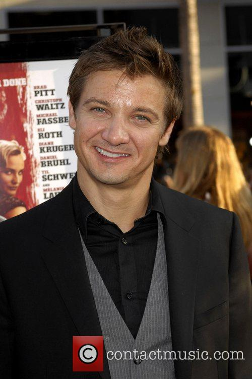 Jeremy Renner Los Angeles Premiere of Inglourious Basterds...