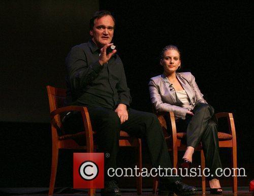 Quentin Tarantino and Melanie Laurent 4