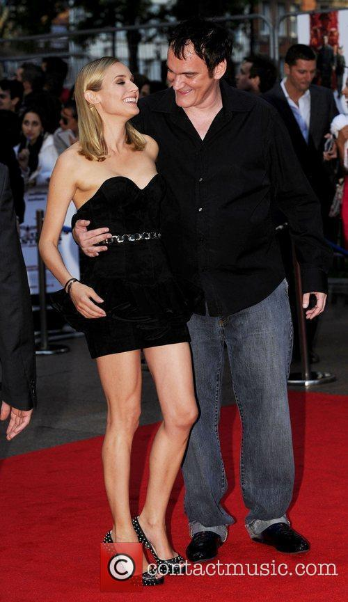 Diane Kruger and Quentin Tarantino 2