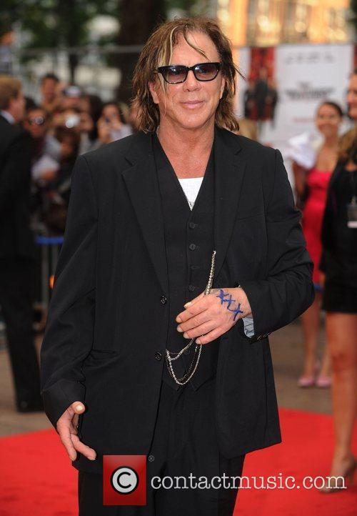 Mickey Rourke  The UK Premiere of 'Inglorious...