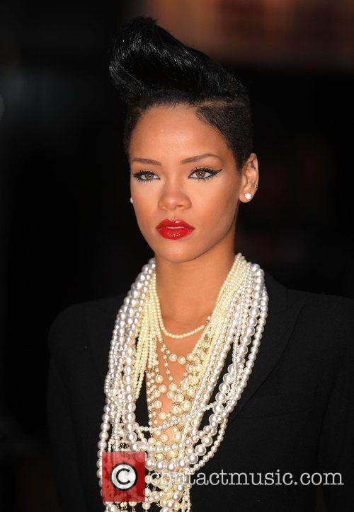 Rihanna  The UK Premiere of 'Inglorious Basterds'...
