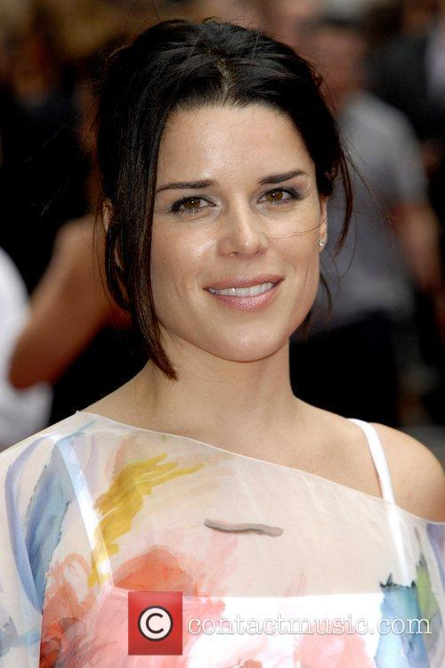 Neve Campbell The UK Premiere of 'Inglorious Basterds'...