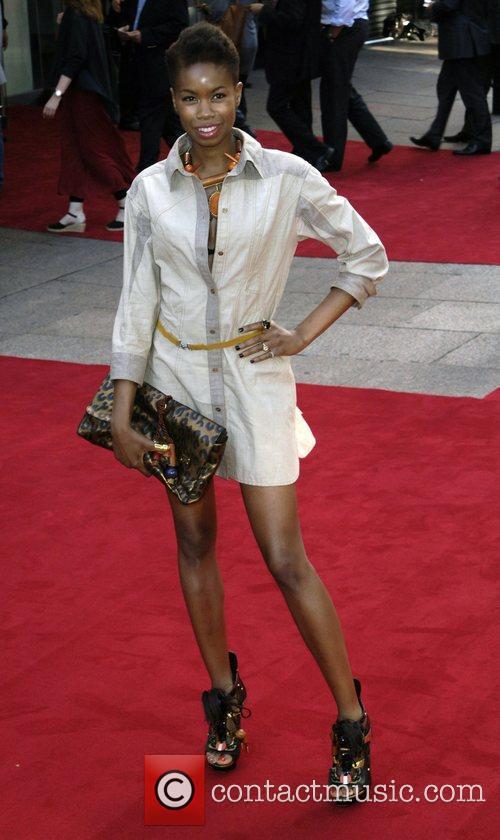 Tolula Adeyemi  The UK Premiere of 'Inglorious...