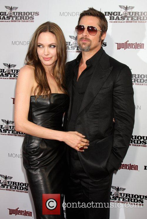 Angelina Jolie and Brad Pitt  Los Angeles...