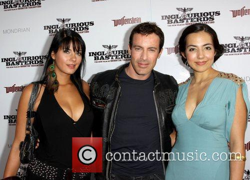 Gedeon Burkhard and guests Los Angeles Premiere of...
