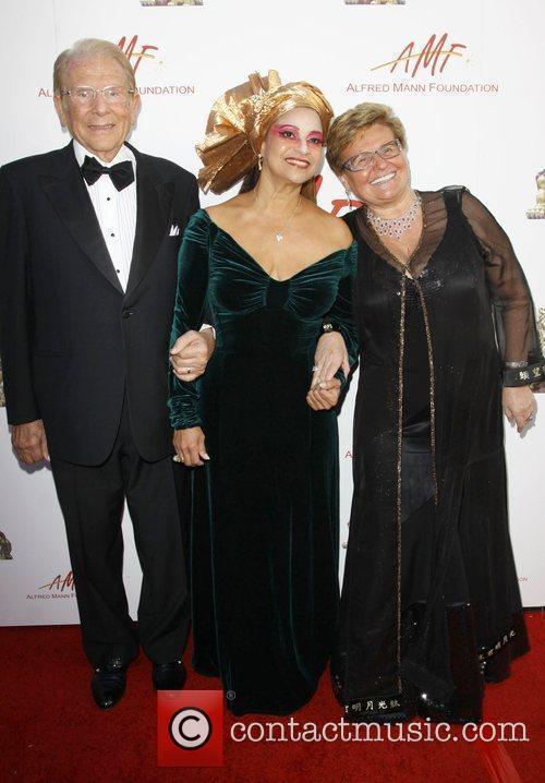 Debbie Allen, Alfred E. Mann and Claude Mann