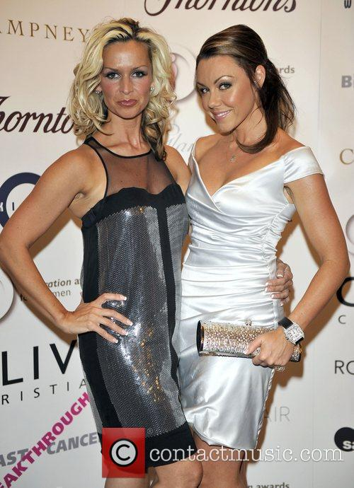 Michelle Heaton and guest attend The Inspiration Awards...
