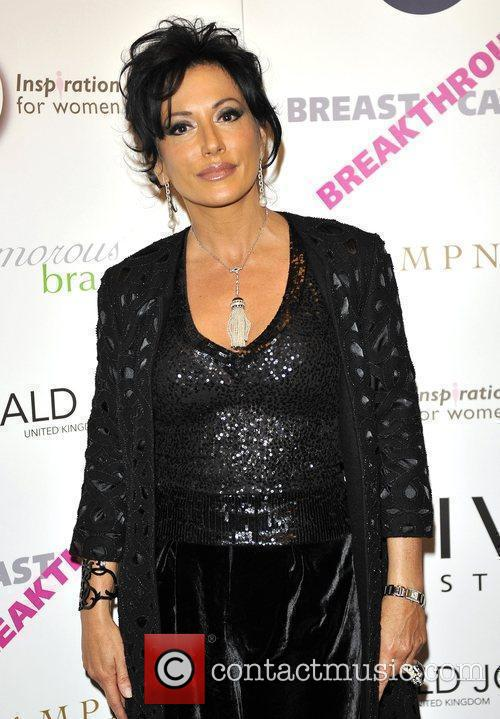 Nancy Dell'Olio attends The Inspiration Awards for Women...