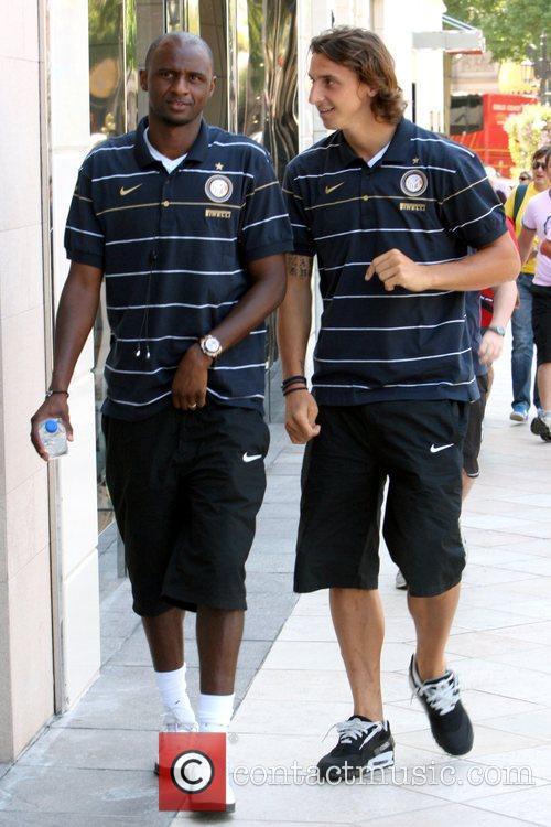 Patrick Vieira, Zlatan Ibrahimovic and their Inter Milan...