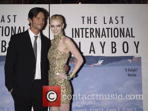 Jason Behr and Lydia Hearst-Shaw The Premiere of...