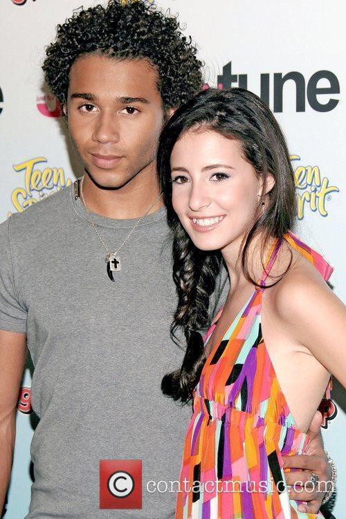 Corbin Bleu, Tiffany Giardina and Times Square