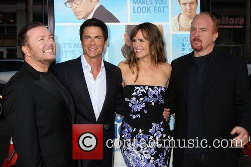 Ricky Gervais, Jennifer Garner and Rob Lowe 5