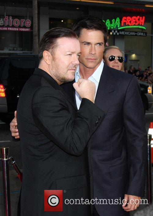 Ricky Gervais and Rob Lowe 11